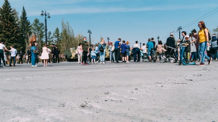 Соборную площадь перекроют на четыре часа для передачи машин больницам