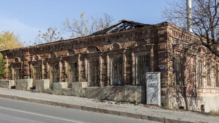 В Волгограде выставлен на торги сгоревший царицынский особняк
