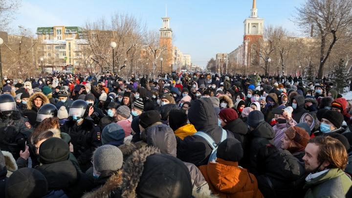 «Наши цели не достигнуты»: Красноярский штаб Навального объявил о новом шествии в воскресенье