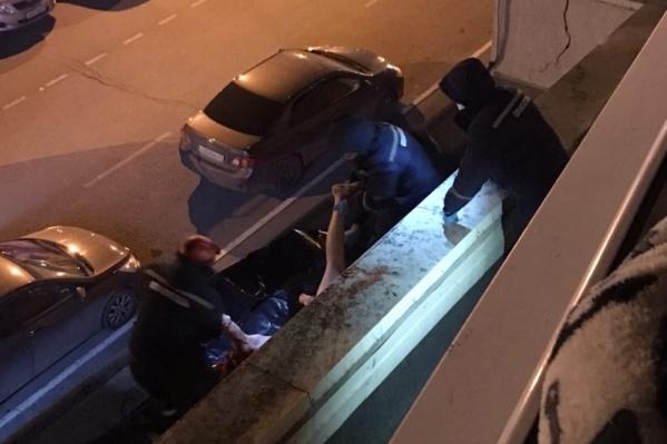 Инцидент произошел ночью