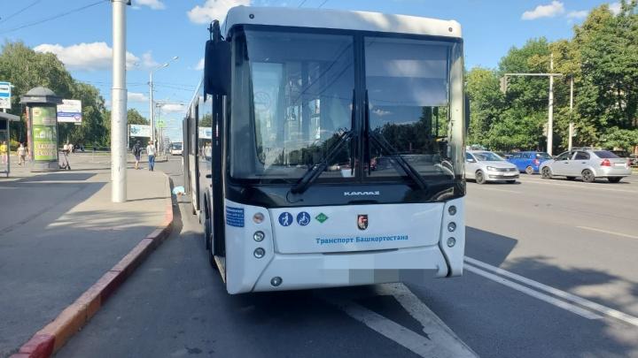 В Уфе автобус насмерть сбил пенсионерку