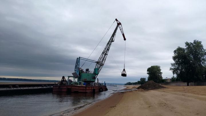 В Самаре обновят песок на пляжах