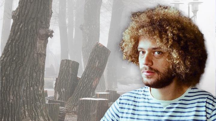«Все деньги [спёрли]»: Варламов раскритиковал Ростов за лысые деревья и кафе в Левобережном парке