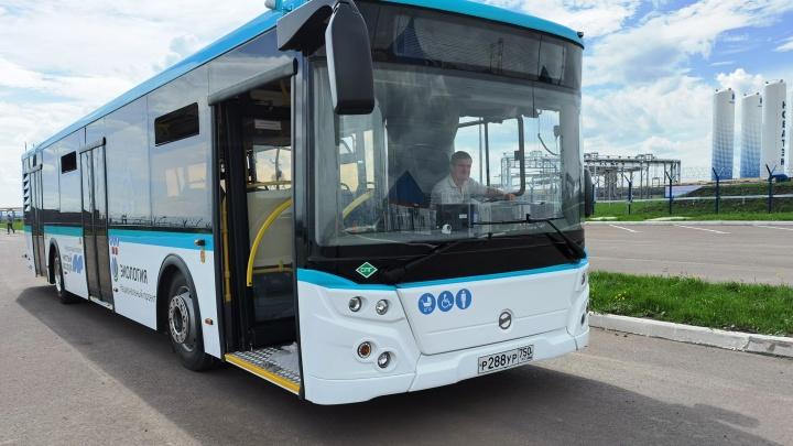 Омская компания выиграла контракт на поставку в город 48 метановых автобусов
