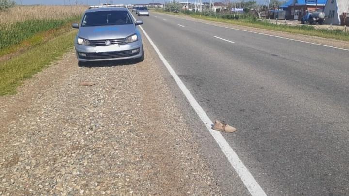 На Кубани задержали водителя ЗИЛа, который насмерть сбил пешехода и уехал