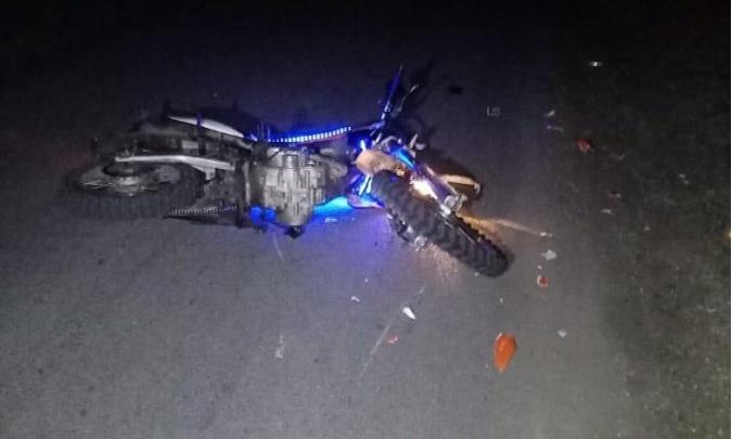 В Курганской области подросток без прав на мотоцикле сбил мужчину