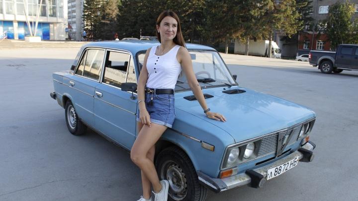 Молодая сибирячка ездит на 34-летней «шестерке». Она рассказала про кайф от механики и расход 17 литров
