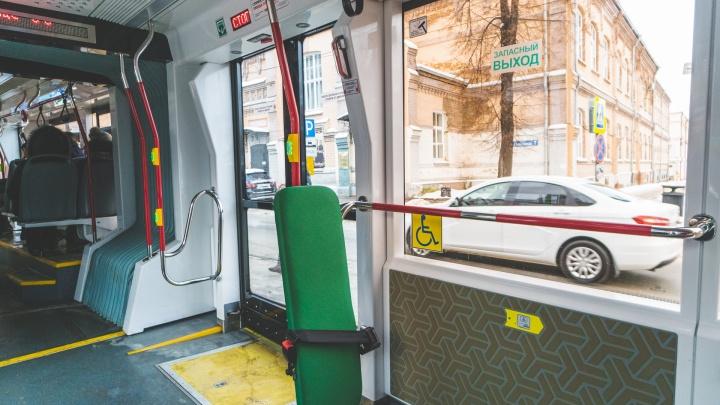 С 1 февраля в трамваях Перми появится адресное открытие дверей