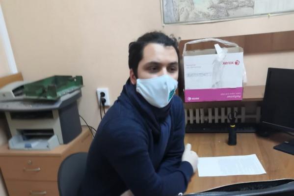 """Сейчас Евгений Кочегин находится в отделе полиции <nobr class=""""_"""">№ 4</nobr>"""