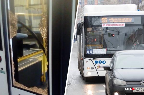 """Второй инцидент со стрельбой произошел в октябре на автобусе <nobr class=""""_"""">№ 55</nobr>"""