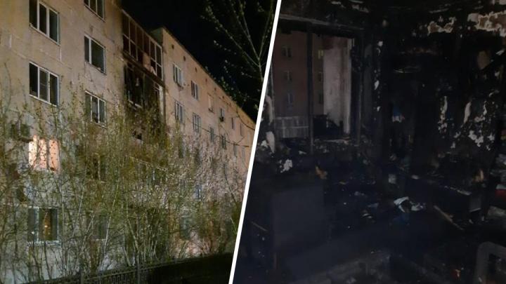 На Урале пятилетний мальчик погиб во время пожара в общежитии
