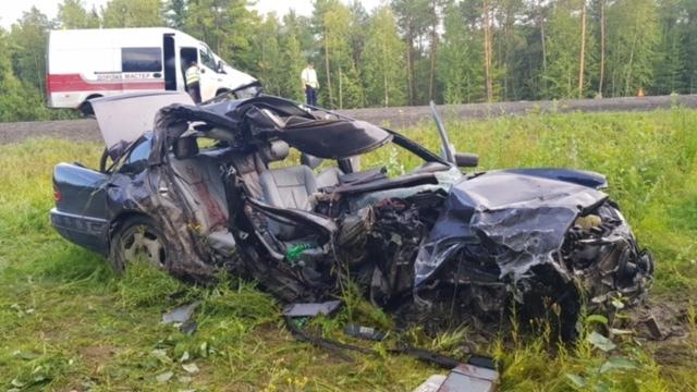 Смертельное ДТП произошло на трассе Тюмень — Ханты-Мансийск