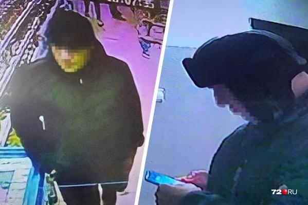 Кадры с камер видеонаблюдения из магазина и подъезда, когда мужчина лез к детям