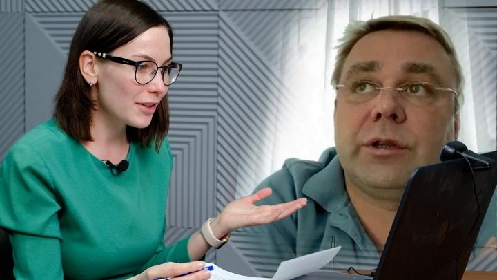 «Очень нерадостное настроение»: смотрим полную версию интервью с бывшим космонавтом, депутатом Максимом Сураевым
