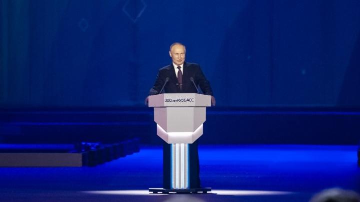 «Он понимает, что нам непросто»: Цивилёв высказался о приезде Путина в Кузбасс