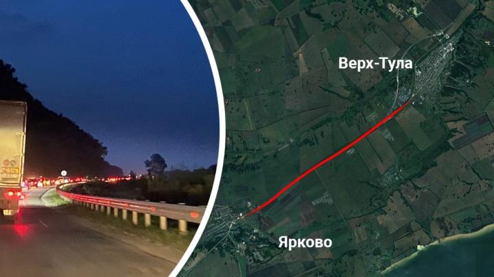 «Будто вечность ехали»: новосибирцы провели полночи в пробке на Ордынском шоссе