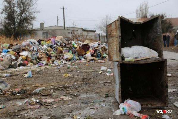 Тело новорожденной девочки нашли в мусоре за гаражами