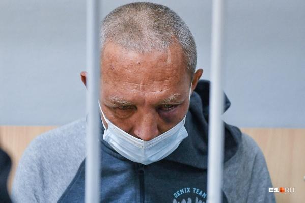 Сергей Болков в Чкаловском суде на следующий день после происшествия
