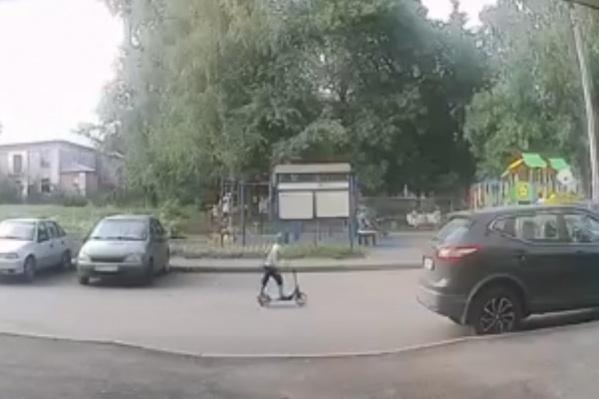 Некоторые случаи наезда фиксировала камера