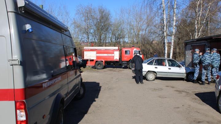 В Ярославле в гаражном комплексе прогремел взрыв. Погиб человек