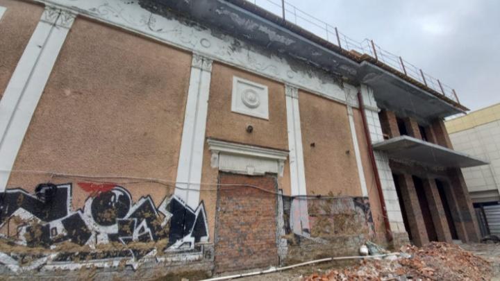 Стало известно, когда закончат реставрацию кинотеатра «Пионер» для театра Афанасьева