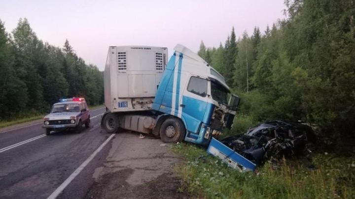 В ДТП на трассе в Прикамье погибли водитель BMW и 8-летний ребенок