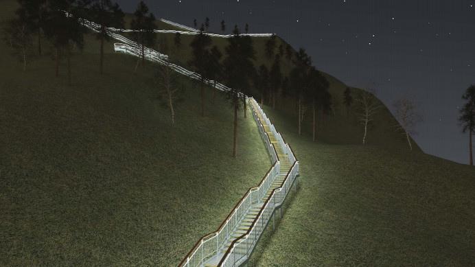 Объявлен тендер на самую длинную лестницу в России. Ее построят на Торгашинском хребте