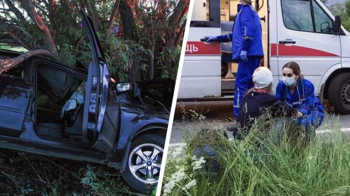 В Приморском районе в аварии по вине пьяного водителя пострадали пятеро подростков