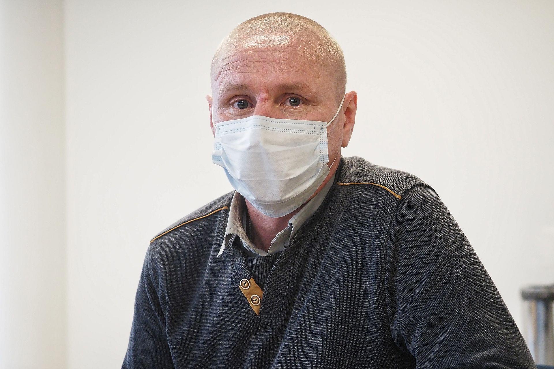 Водитель такси Виктор Гаврилов