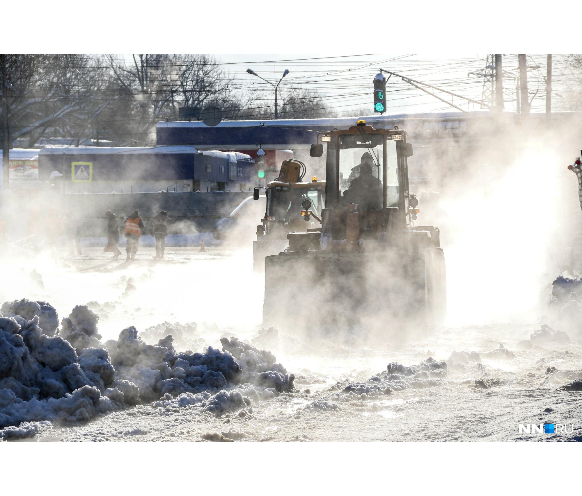 Ковалихинская этим утром была похожа на термальный источник в горах