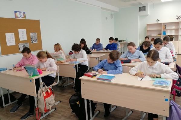 До Нового года в школу ходили только ученики начальных и выпускных классов