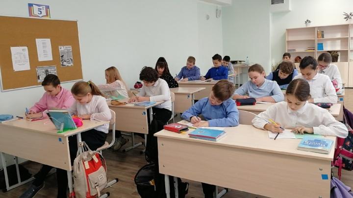 Красноярские школьники вернулись в школу после долгого дистанта