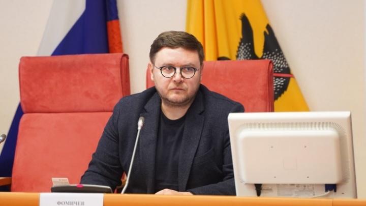 «Единая Россия» приостановила членство Романа Фомичева в ярославской партии