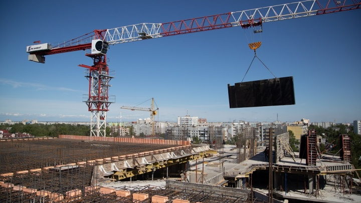 В Архангельске могут провести выездное заседание Российского Союза строителей
