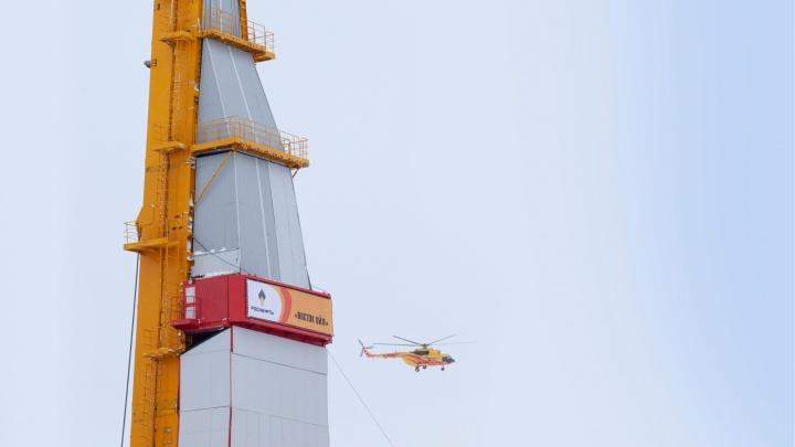 «Роснефть» начала выполнять рейсы из Норильска на объекты «Восток Ойл»