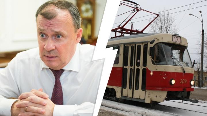 «Это уже прошлый век»: Орлов раскритиковал старые трамваи и троллейбусы Екатеринбурга