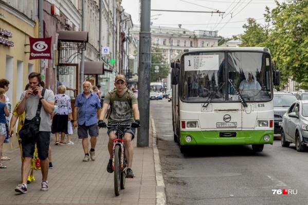 В Ярославле расписание автобусов в будние дни и в выходные отличается