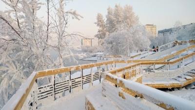 К концу праздничных выходных в Красноярске похолодает до -30 градусов
