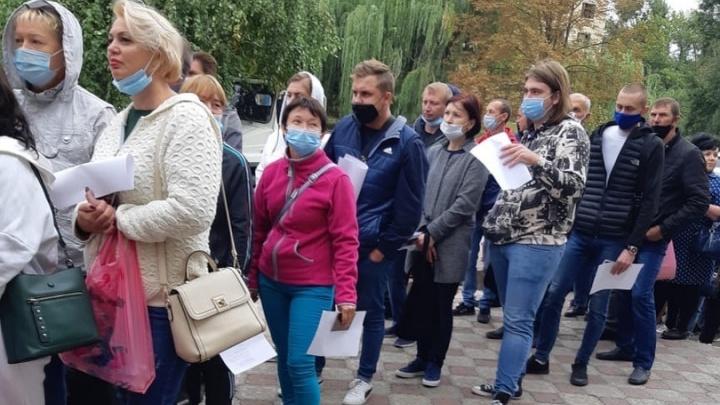Двести тысяч жителей Донбасса проголосовали в Ростовской области