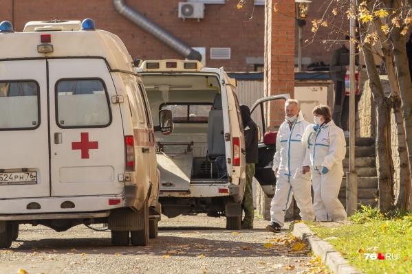 Число заболевших коронавирусом в Ярославской области растет с каждым днем