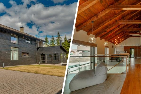 Все дома поселка выполнены в едином стиле, но отличаются дизайном внутри