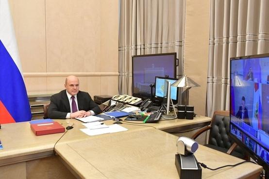 Михаил Мишустин подписал программу социально-экономического развития Кузбасса во время своего визита в Кемерово