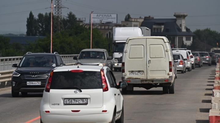После открытия моста на Малиновского в Ростове возникла «мертвая» пробка