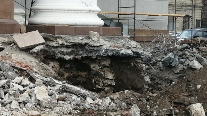 Министр культуры прокомментировал махинации при ремонте оперного театра