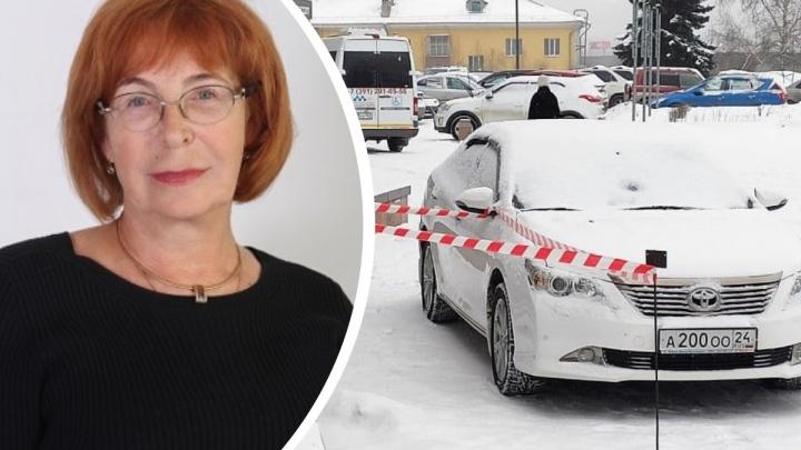 В машину спикера горсовета Красноярска Натальи Фирюлиной запустили фейерверк в центре города