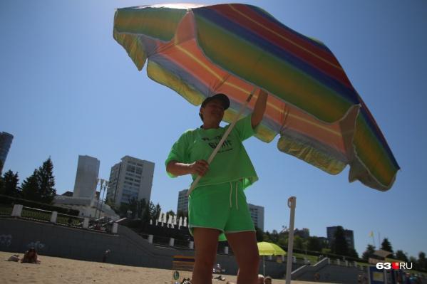 Во время жары лучше не оставаться на солнцепеке