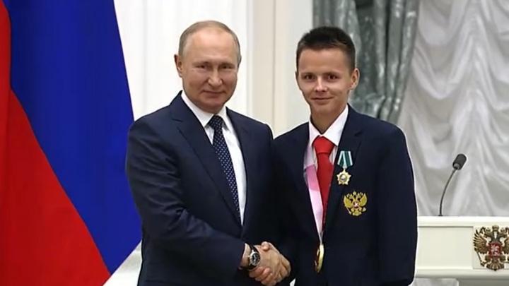 Владимир Путин наградил паралимпийца из Поморья Орденом Дружбы
