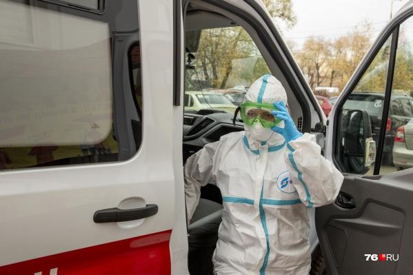 В Ярославской области растет количество госпитализаций больных с коронавирусом