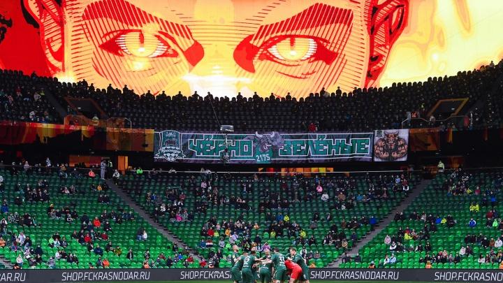 «Краснодар» одержал победу над «Рубином». Команда Галицкого вышла на матч под музыку Ханса Циммера