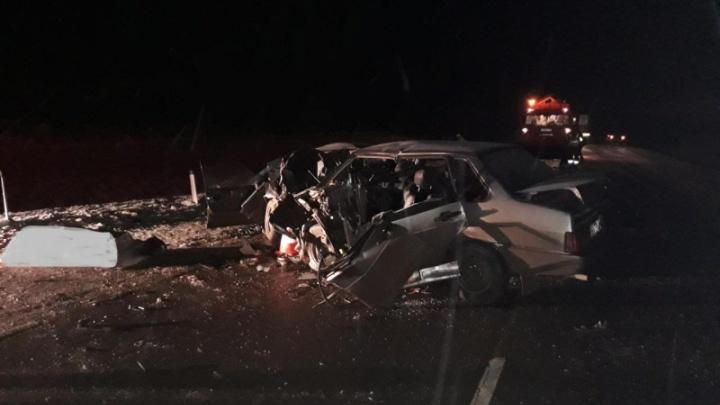 Жуткая авария на трассе под Волгоградом — два человека погибли